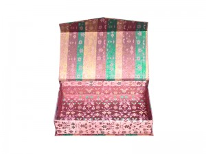 Cutie pentru cadouri din material textil